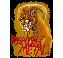Death Metal Monster Photographic Print