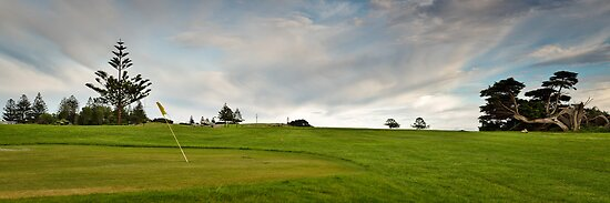 Golf Course panorama by fotosic