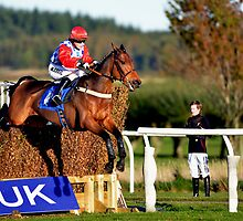 Lucy Alexander Winning at Kelso Races by photobymdavey