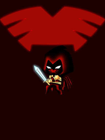 Chibi Azrael by artwaste