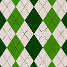 Irish Argyle (iPhone) by Maria Dryfhout