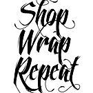 Shop Wrap Repeat card by Vana Shipton