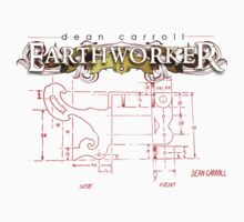 "Dean Carroll Earthworker ""machine blueprint"" by DeanCarroll"