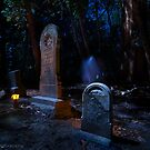 The Ghost and the Graveyard by MattGranz