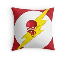 Chibi Flash Throw Pillow