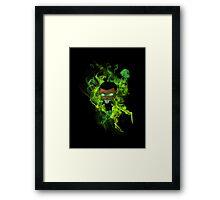 Chibi Green Lantern Framed Print