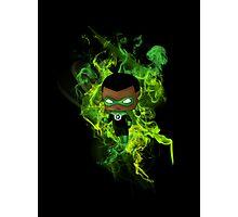 Chibi Green Lantern Photographic Print