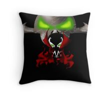 Chibi Spawn Throw Pillow