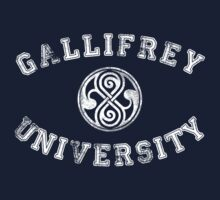 Gallifrey University Kids Clothes