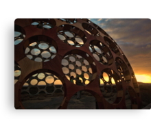 Sunrise Dome Canvas Print