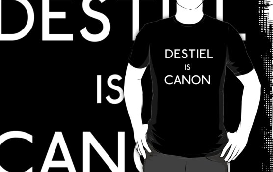 Destiel is canon by Unicorn-Seller