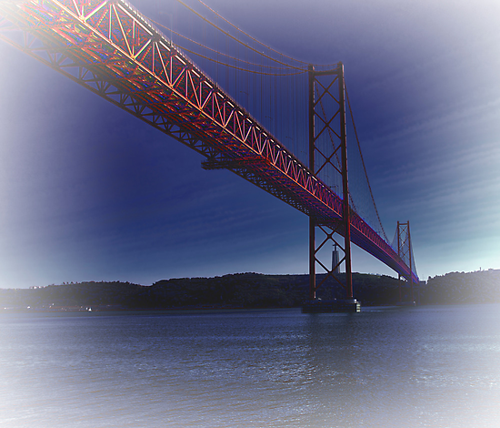 25th April Bridge. Lisbon by Aase