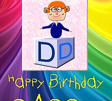 My Happy Birthday Daddy Play Brick  by Dennis Melling