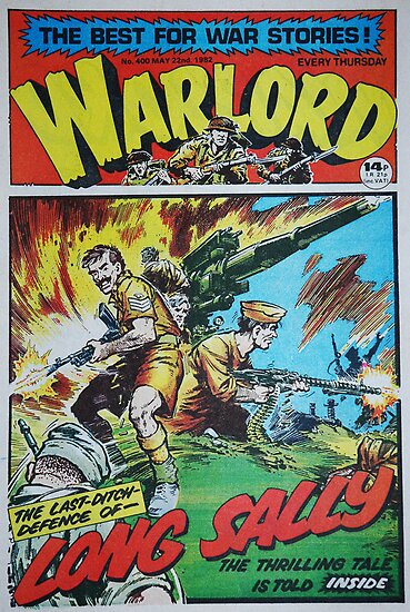 Warlord - Long Sally  by James Stevens