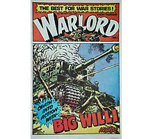 Warlord - Big Willi Photographic Print