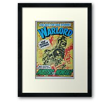 Warlord - The Terror Express Framed Print