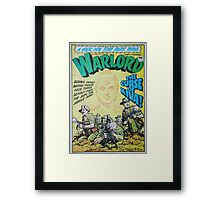 Warlord - The Curse of Kiva Framed Print