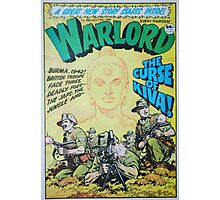 Warlord - The Curse of Kiva Photographic Print