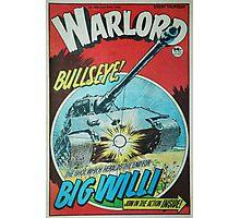 Warlord - Bullseye Photographic Print