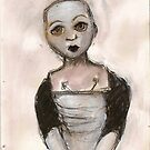 Stripped doll by Thelma Van Rensburg