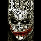 Hallowen Typograph Clown - iphone 5, iphone 4 4s, iPhone 3Gs, iPod Touch 4g case, Available for T-Shirt man and woman by www. pointsalestore.com