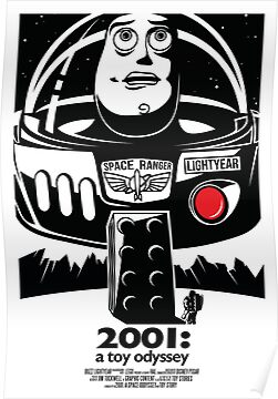 Toy Stories - 2001 A Space Odyssey by Jim  Tuckwell