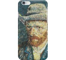 Van Gogh iPhone 5 Case - Self-Portrait with Felt Hat iPhone Case/Skin