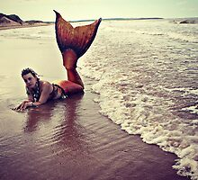 Mermaid on the Sand by HFXmermaid