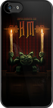 Haunted Mansion Gargoyle iPhone 5 Design by Topher Adam by TopherAdam
