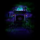 "Haunted Mansion ""The Spirits are afraid of flash pictures please"" iPhone 5 cover by Topher Adam for Hugs & Bitchslaps by TopherAdam"