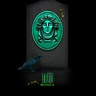 "Haunted Mansion ""Leota Headstone"" iPhone 5 cover by Topher Adam for Hugs & Bitchslaps by TopherAdam"