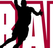 """Basketball """"BBALL"""" Sticker"""