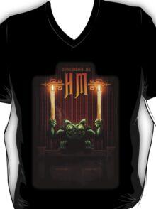 Haunted Mansion Gargoyle Design by Topher Adam T-Shirt