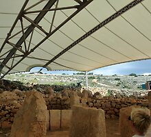 Neolithic Temple of Mnajdra by HELUA
