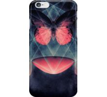 Beautiful Symmetry Surreal Butterfly iPhone Case/Skin