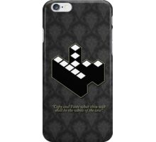 Kopimism - copy and paste - patterned version iPhone Case/Skin