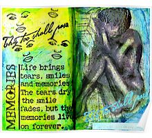 Remembering My Son -  Art Journal Entry Poster