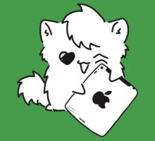 Kitty Loves iDevices! (shirt) by Mroo
