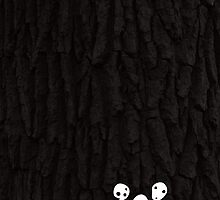 Kodama Tree Spirits by sanseref