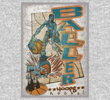 Baller Basketball Hoops Player by MudgeStudios