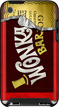 Wonka Bar Iphone Case by cdoty