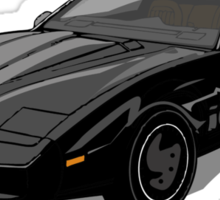 Knight Rider KITT Car Sticker
