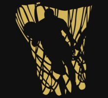 Basketball Player Dark by SportsT-Shirts