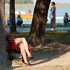 Legs in Burano by Sparklerpix