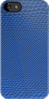Blue Snake Skin by TinaGraphics