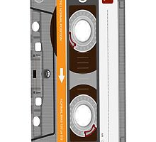 Vintage audio cassette by nadil