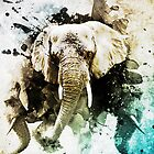 Explosion of Elephants by nightowling