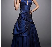 Primodels Review-Royal blue dress by primodels