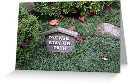 Stay On The Path by Michelle Brandt