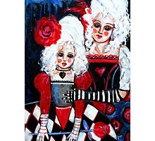 THE ROSE QUEENS Photographic Print